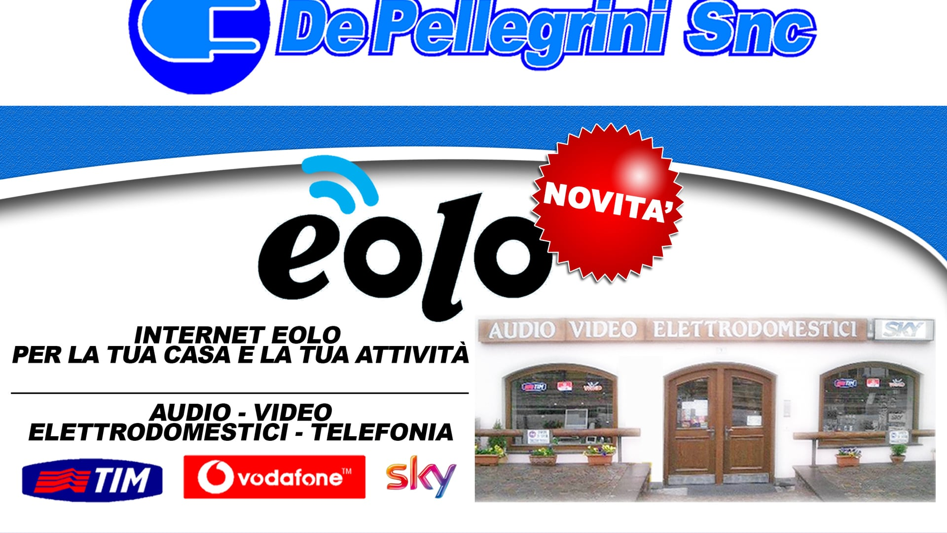 DE PELLEGRINI AUDIO VIDEO TELEFONIA