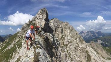 ROCK THE MOUNTAIN - LA MIA PRIMA VIA FERRATA